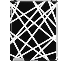 White Lines iPad Case/Skin