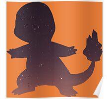 Pokemon - Space Charmander Design Poster