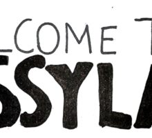 welcome to sassyland Sticker