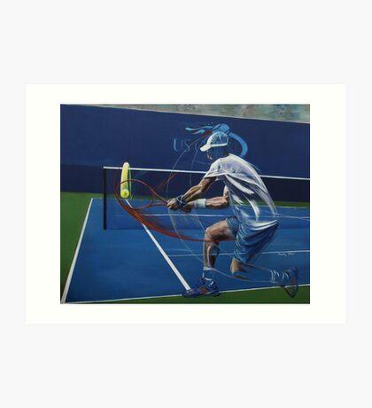 Andy Murray Art Print