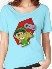 Zelda Branded Tee NTSC SNES Women's Relaxed Fit T-Shirt