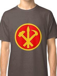 Workers Party of Korea emblem symbol Classic T-Shirt