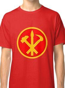 Workers Party of Korea emblem symbol Classic T-Shirt