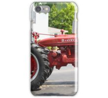 ANTIQUE FARMALL TRACTOR iPhone Case/Skin