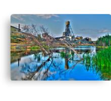 The Giant Mine Canvas Print