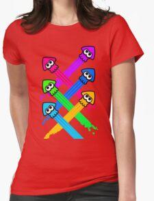 Splattack Womens Fitted T-Shirt