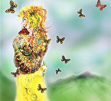 Colouring win [Digital Figure Illustration] Version 1 by Grant Wilson