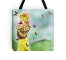 Colouring win [Digital Figure Illustration] Version 1 Tote Bag