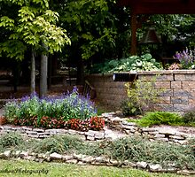 Corner flower bed by Judy Lawhon