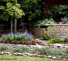 Corner flower bed by Judy Lawhon