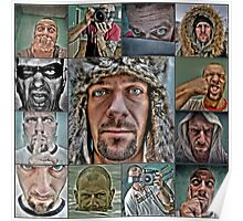 My the best self portraits in 2009 Poster