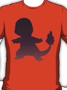 Pokemon - Space Charmander Design T-Shirt