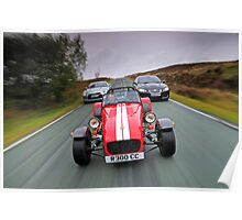 Caterham, XFR and GTR .... Poster