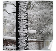 Walk in snow Poster