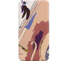 Jazz Bass Illustration iPhone Case/Skin