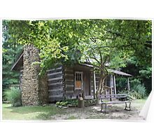 LOG CABIN IN INDIANA Poster