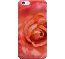 Ombré Red Garden Rose I iPhone Case/Skin