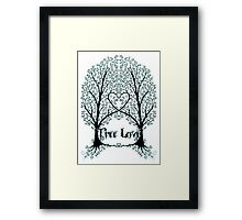 Tree Love Framed Print