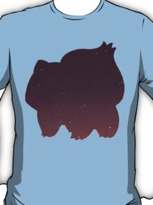 Pokemon - Space Bulbasaur Design T-Shirt
