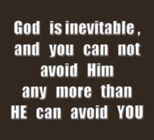 God is inevitable by James Lewis Hamilton