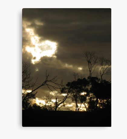 Last Sighs of Sunset Canvas Print