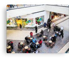 Coffee at the Mall - Hamilton Ontario Canada Canvas Print