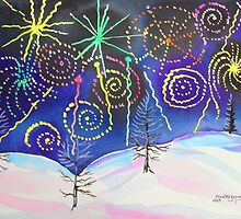 Fireworks on New Years Eve..... by Kevin McGeeney