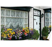The Old Lace Shop ~ Beer, Devon Poster