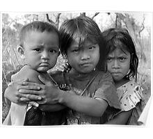 Cambodian Girls Poster