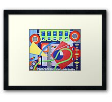 Moving pieces 1 Framed Print