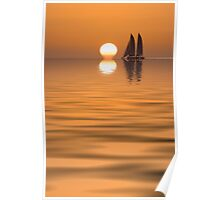 Key West Sunset plus Poster