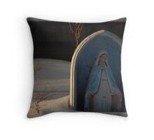 Snowy Atonement  Throw Pillow