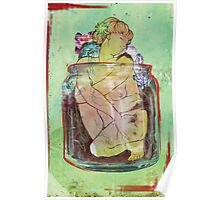 Figure In A Container Poster