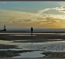 Evening at Crosby Beach by toffeelady72