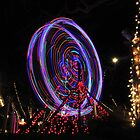 Xmas Ferris Wheel by Walt Conklin