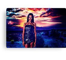 High Fashion Desert Fine Art Print Canvas Print