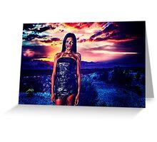 High Fashion Desert Fine Art Print Greeting Card