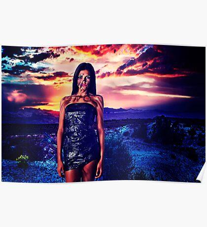 High Fashion Desert Fine Art Print Poster