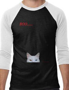 Boo.....  T-Shirt Men's Baseball ¾ T-Shirt