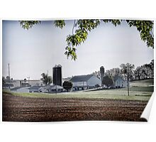 Amish Farmland - Lancaster County Poster