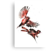 Cardinals Pew Pew Pewing... Canvas Print