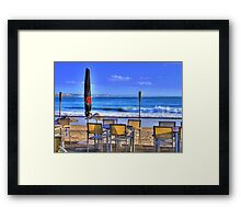 enjoy it with me..... Framed Print