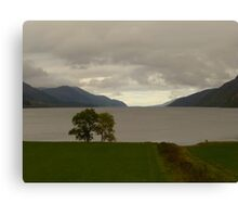 Tip of Loch Ness Canvas Print