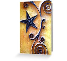 Celestial Spirals Greeting Card