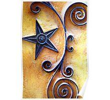 Celestial Spirals Poster