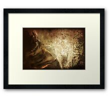 Pursued by Glory Framed Print