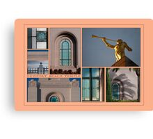 Newport Collage Canvas Print