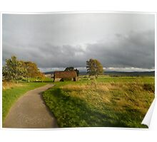 Culloden At Sunset Poster