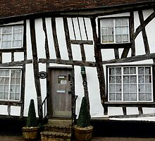 Hedgehog Cottage, Lavenham by Carol Dawes