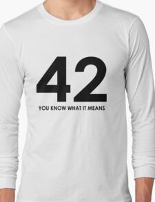 The meaning of life, the universe and everything T-Shirt